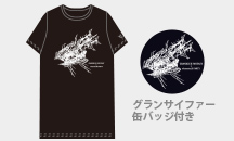 GRANBLUE FANTASY×elements,H PARTY!!    コラボTシャツ ブラック
