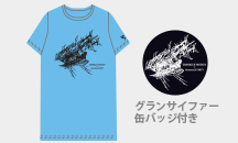 GRANBLUE FANTASY×elements,H PARTY!!    コラボTシャツ ブルー